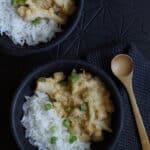 Curry de pois chiches et chou-fleur